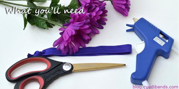 Making Flower Headbands Flower Headband Supplies