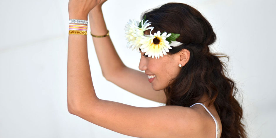 DIY Festival Flower Headband